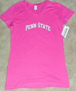 info for 82058 eeff6 Image is loading PENN-STATE-Nittany-Lions-PINK-Womens-Girls-T-