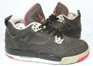 Détails sur Nike Air Jordan 4 Retro Sneaker Mid Basket Chaussures Jordans 23 noir T 38 afficher le titre d'origine