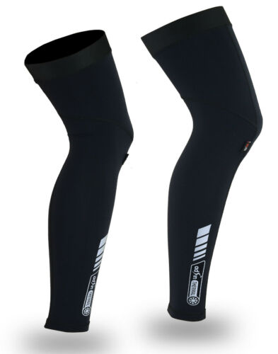 Cycling Leg Warmer Thermal Compression Winter Knee Running Warmers Rubex