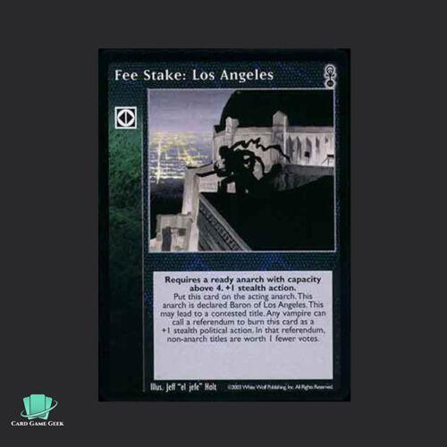 Los Angeles 1x Fee Stake Vampire Eternal Struggle VTES Jyhad