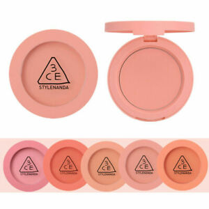 3CE-3-Concept-Eyes-Stylenanda-FACE-BLUSH-Cheek-Pink-Peach-Color-Free-Gift