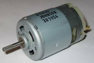 Johnson-Electric-13-6V-DC-Hobby-Motor-6000-RPM-6-15-oz-in-3-6-Amp-9167