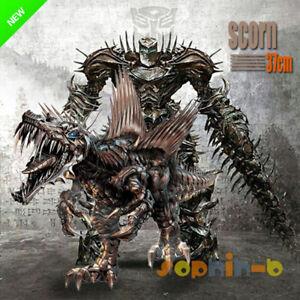 Transformed-Movie-AOE-Scorn-Dinobots-Figure-Grimlock-Optimus-Prime-G1-Megatron