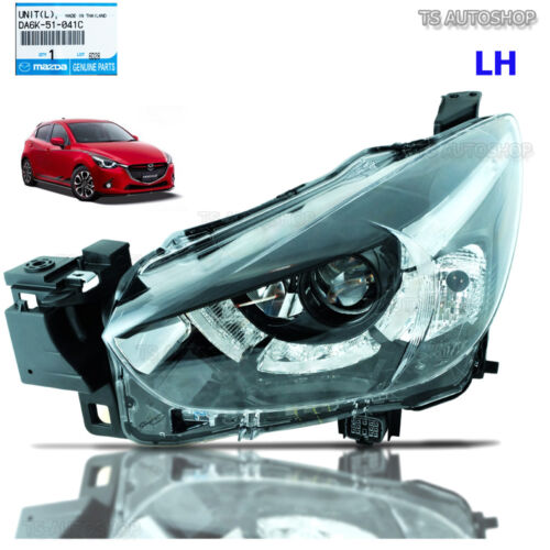 For Mazda 2 Mazda2 Sedan Hatchback 2015 2016 LH Left Projector Head Lamp Genuine