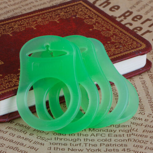 5Pcs Silicone Button Baby Dummy Pacifier Holder Clip Adapter for MAM Rings