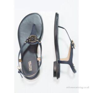 407db07e017f Michael Kors Lee Thong Admiral Blue Ankle Strap Sandal Women s sizes ...