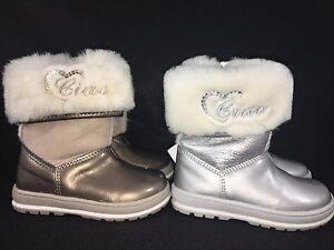 Ciao-Bimbi-Girl-039-s-Toddler-baby-Boots-Silver-Taupe-Navy-sheepskin-4-5-5-5-6-5