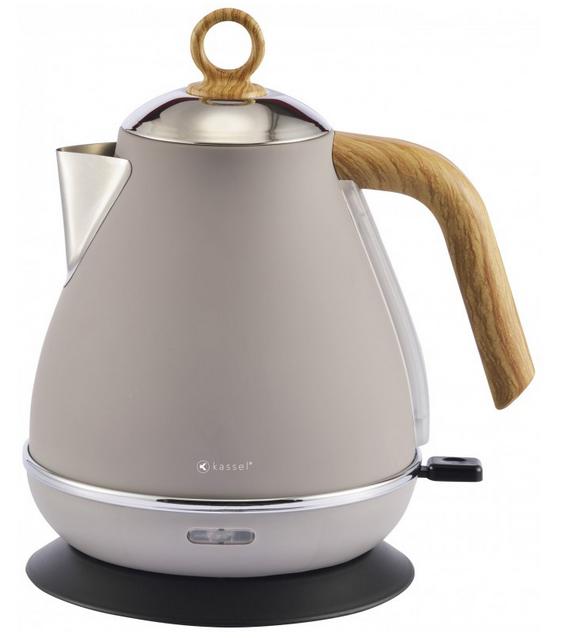 Vestel Elektrischer Teekocher Teebereiter Wasserkocher Edelstahl ca 2200W 1,7l