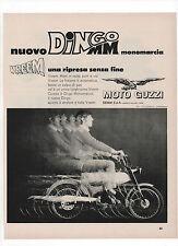 Pubblicità 1971 DINGO MM GUZZI MOTO MOTOR advertising werbung publicitè reklame