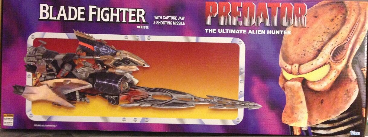 Predator - Blade Fighter Vehicle by NECA NEW  SOLD OUT  Over 2 Feet Long