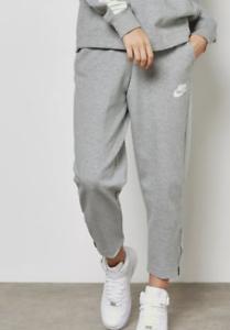 Nike-Women-039-s-Grey-Terry-Top-Sweatpants-Activewear-10020-Size-L