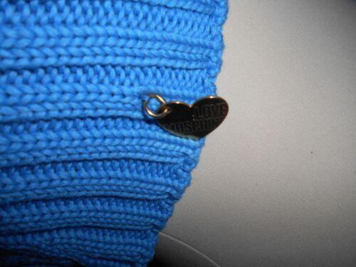 Cotton 100 8 Ribbed Cardigan Love It Uk Moschino Bnwot Blue 40 Pretty Shrug 76xHP