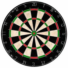 18 Inch Professional Regulation Size Bristle Dart Board with Mounting Hardware