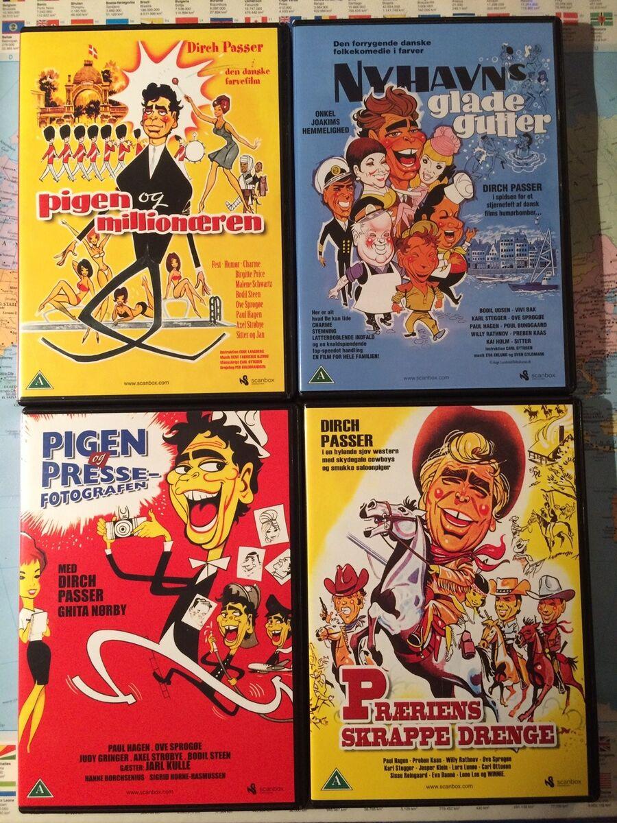 Dirch Passer film, DVD, komedie – dba.dk – Køb og Salg af Nyt og Brugt