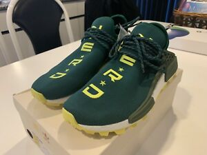 official photos a7eda 0e2ae Details about Adidas HU NMD NERD N*E*R*D Pharrell Human Race BBC NYC  Exclusive Sz 10 NERD