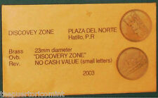 DISCOVERY-ZONE 2003 PLAZA del NORTE HATILLO Puerto Rico Arcade listed by ROHERS