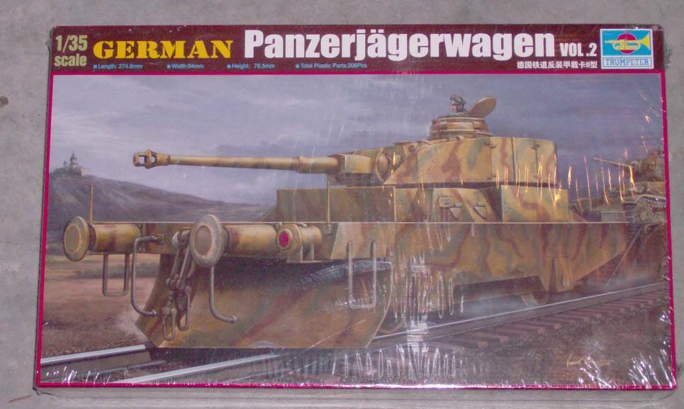 Trumpeter 1 35 German Panzerjagerwagen Vol.2  New