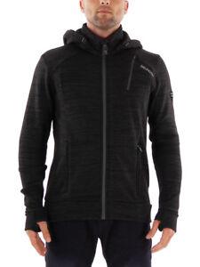 Tevero Jacket Veste Stretch Brunotti Black fonctionnelle Isolant Fleece S5q4PEI