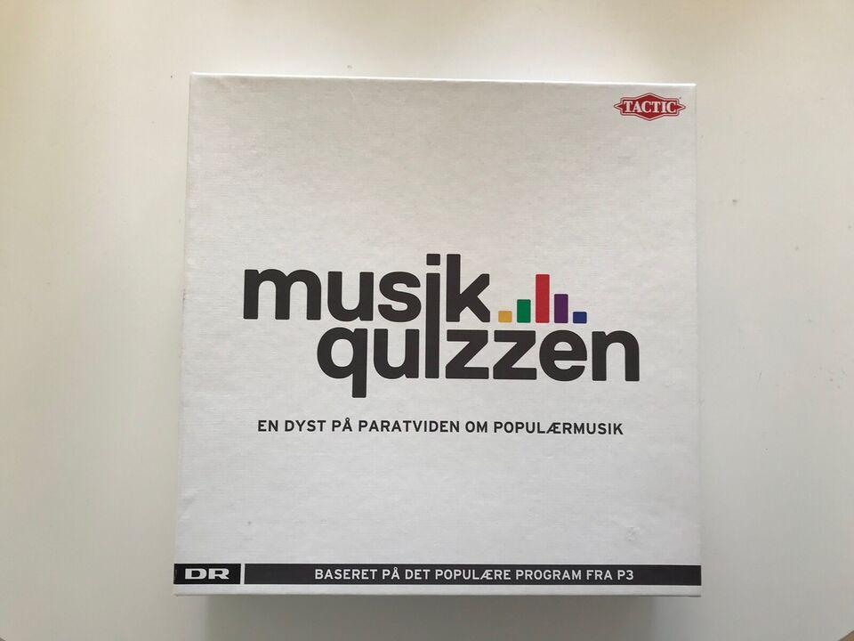 Musikquizzen, Quiz, quizspil