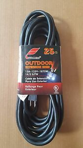 Electrical Extension Cord 25 50 100 Ft Lengths 14 3 Gauge