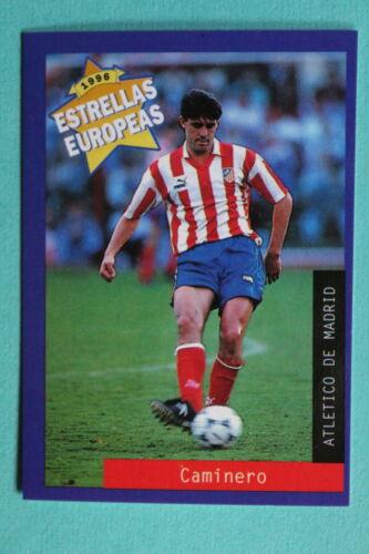 49 ATHLETIC DE BILBAO CAMINERO MINT!!! PANINI ESTRELLAS EUROPEAS 1996  N