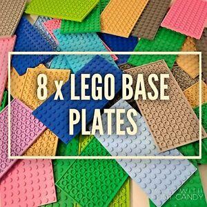 Lego-Base-Plates-8-x-16-Lego-Friends-City-Plates-Boards-Accessories-Job-Lot
