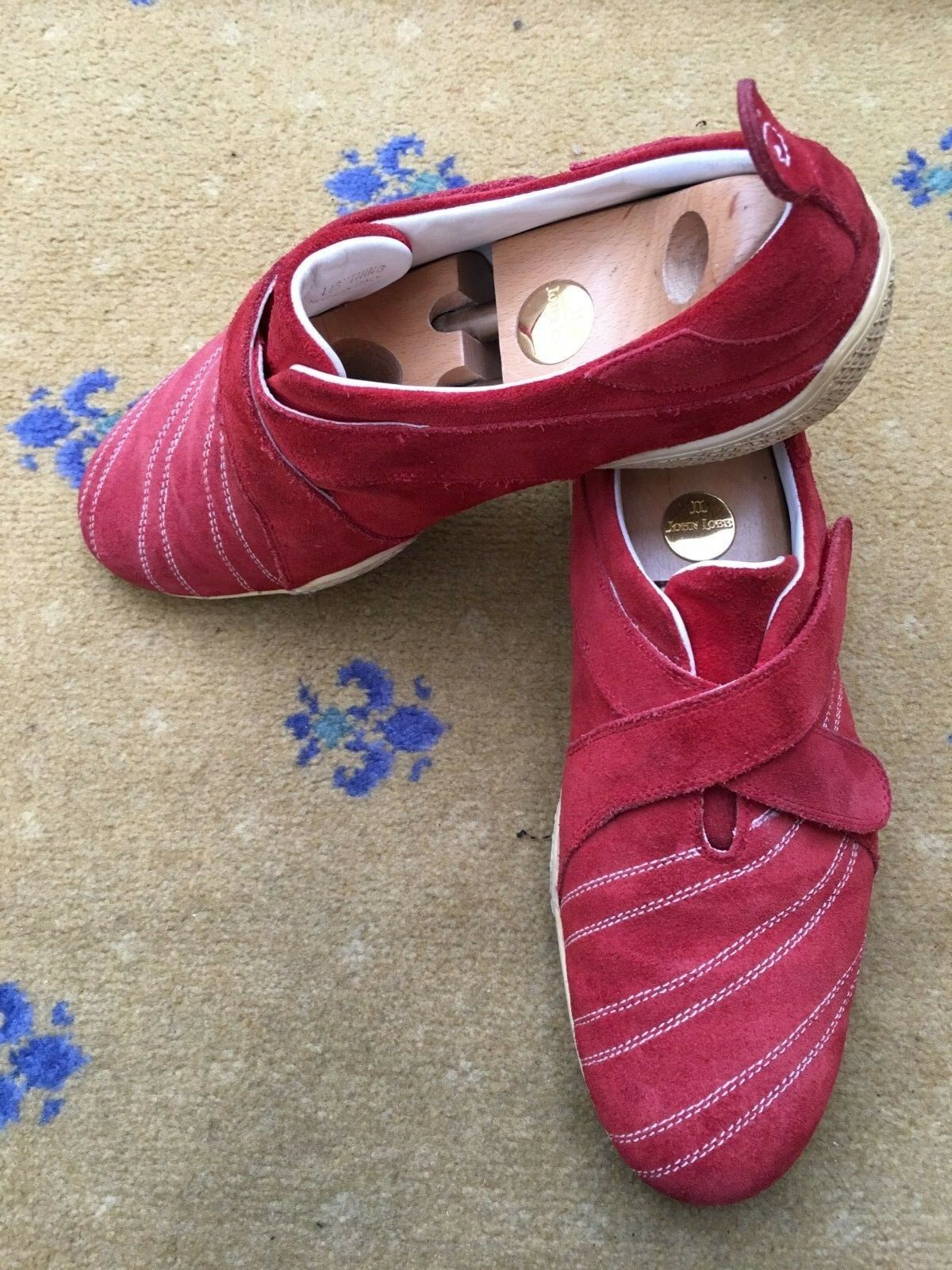 Oliver Sweeney Mens schuhe rot Suede Crotver Strap UK 10 US 11 EU 44 Trainers