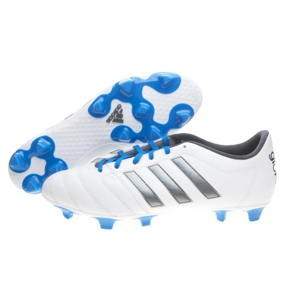 Sautope da calcio uomo Adidas Gloro 16.2 FG S42170 bianco-blu-argentoo