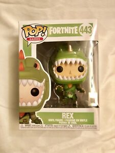 Fortnite-Rex FUNKO POP Vinilo Figura #443!