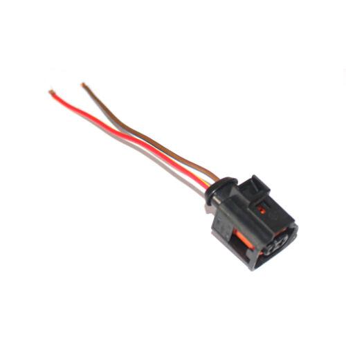 2-Pin Plug Connector Adapter Perfect for Alternator of VAG VW Audi Skoda 2PIN