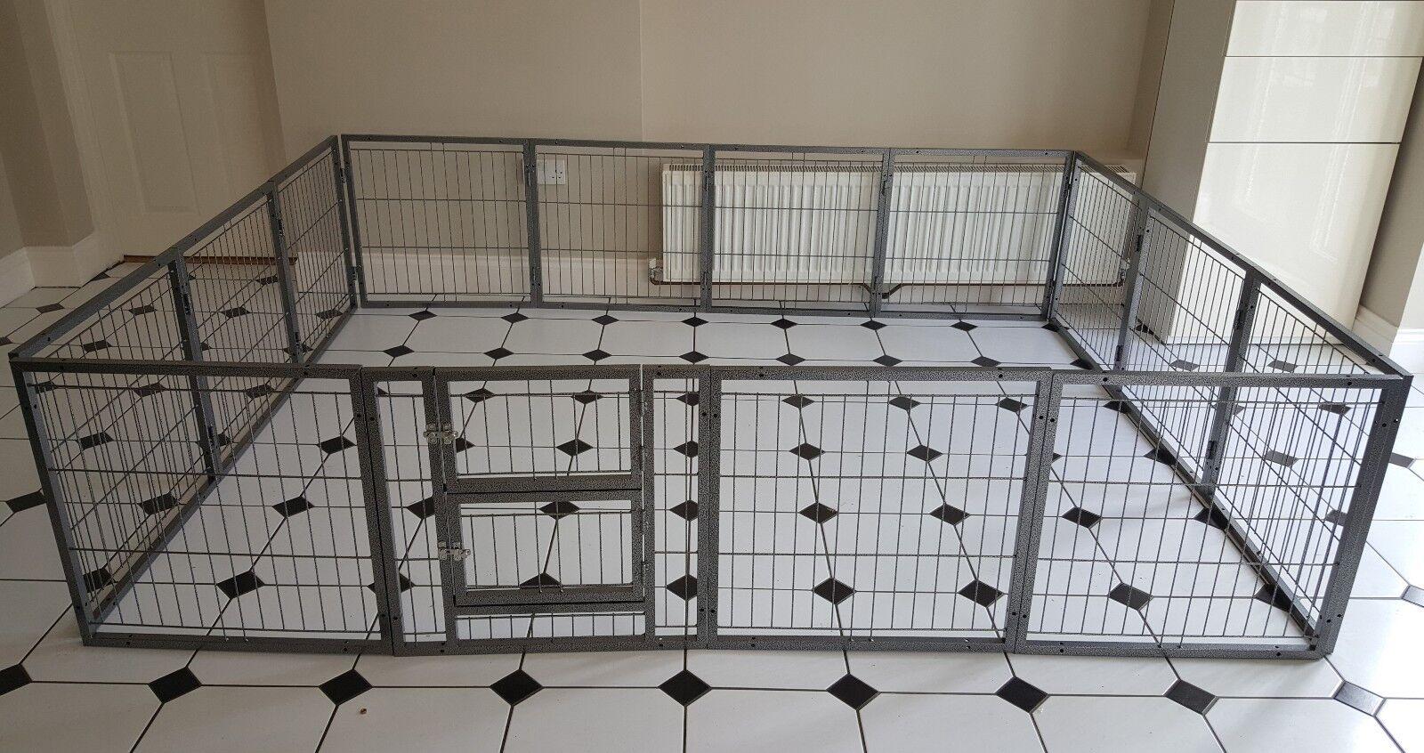 Margothedog cucciolo esercizio Penna MODULARE cane gabbia gabbia gabbia CUCCIOLI Penna del sistema 8c8afc