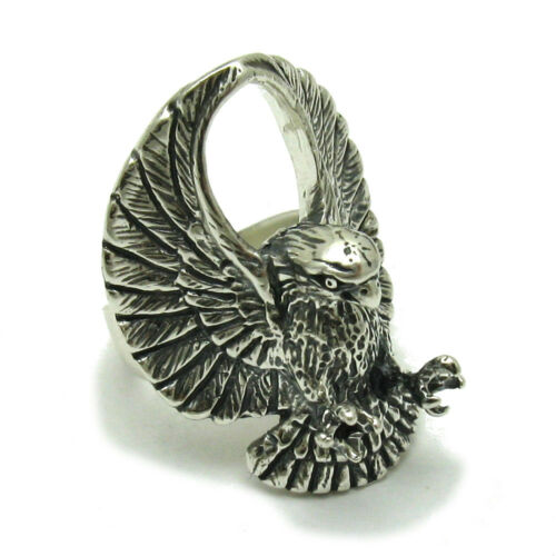 R001552 STERLING SILVER RING SOLID 925 EAGLE