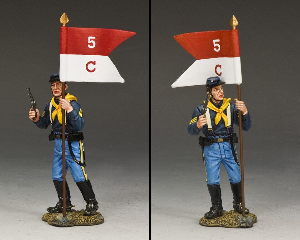 King & Land John FORD Kavallerie KX025 U.S.Kavallerie Trooper Guidon Sergeant MB