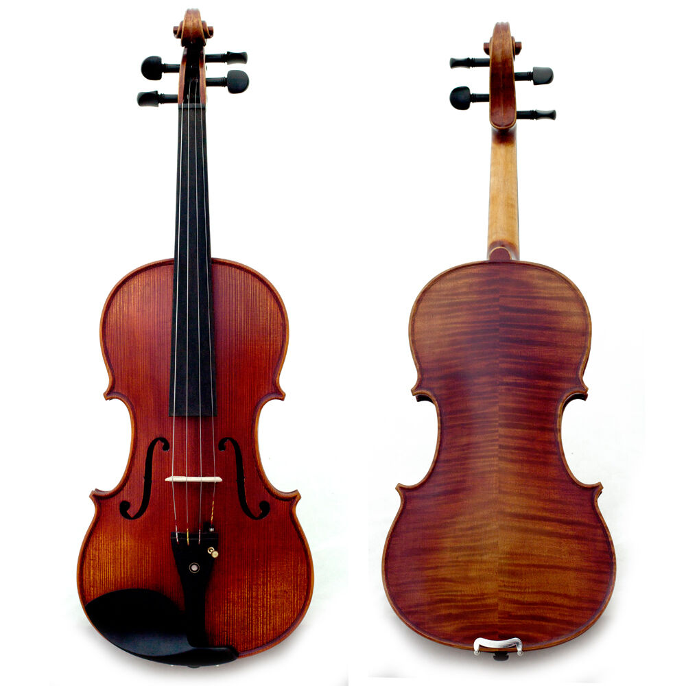 Professional Hand-made 4 4 Full Größe Acoustic Violin Dried for 25+ Years