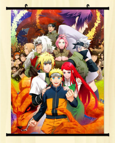 Naruto Tsunade Halskette Uchiha Home Decor Poster Wall Scroll Whole roles Anime