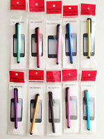 LONG CLIP STYLUS touch pen pack FOR apple iphone 4s 5s ipod Samsung s3 s4 note 2