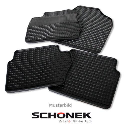 RENAULT TWINGO I 4-teilig SCHÖNEK Gummimatten Fußmatten Automatten MAZDA 3 BK