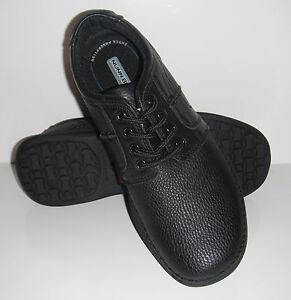 New Nunn Bush Vince Genuine Black Leather Comfortable