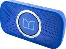 MONSTER Superstar WIreless Portable Pocket Size Speaker NEON BLUE / MSRP $129.95