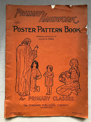 1935 Childrens Christian Bible Story Poster Pattern And ...