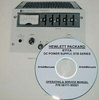 Hp 6111a Power Supply Operator & Service Manual