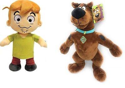 Peluche Shaggy E Scooby Doo In Piedi 27cm Ottima Qualita'