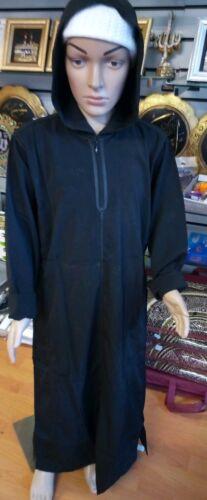 Al kauthar Ragazzi nera con cappuccio GIUBA/Thoub TG 38,40,44,46,48