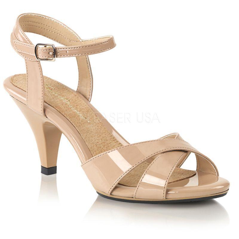 Sandaletten BELLE-315 Beige Sandaletten Fabulicious Sandaletten Beige BELLE-315 Beige c6f304