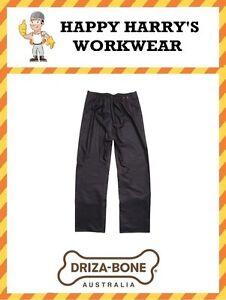 Driza-Bone-Drizabone-Traditional-Oilskin-Trousers-Brown-NEW-WITH-TAGS