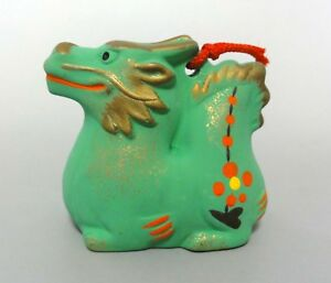 Details about k#02 Japanese Oriental Zodiac Good Luck Ceramic Bell / TATSU  Dragon