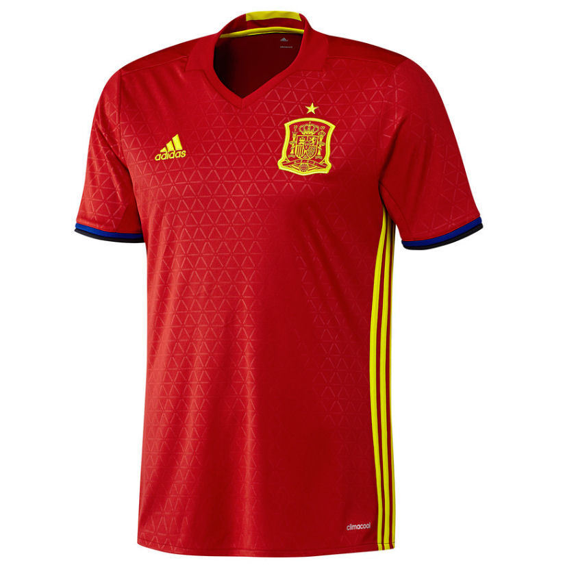 ADIDAS FEF H JSY T-SHIRT OFFICIAL SPAIN AI4411 (PVP IN STORE 89EUR)