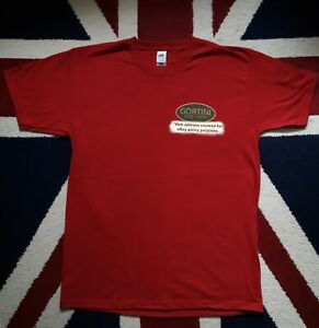 GORTINI POLE FLOATS printed logo EXTRA LARGE cotton t-shirt
