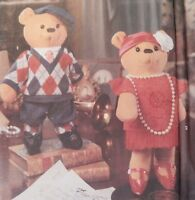 8265 Simplicity 15 Flapper 1920's Teddy Bear Plus Clothes