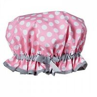 Jessie Steele Pink White Dot Shower Cap